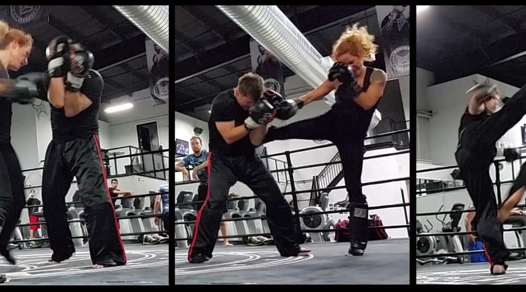Various Kinds Of Kickboxing And Circuit Trainings